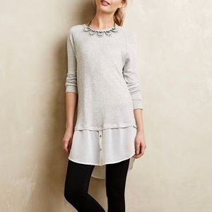 Anthro Dolan Left Coast Avaline Layered Pullover